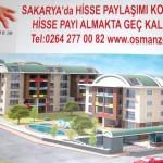 Sakarya'da Hisse Paylasimi Konutlari Projesi