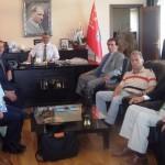 Sakarya Emniyet Müdürü Osman BABADAĞI'ndan  Ulaşım Yolları Yeşil Projesine destek
