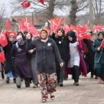 Şehit Ömer Akkuş 'un cenazesine Katıldık