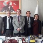 SAKÜDE Yönetimi Gebze Cumhuriyet Başsavcısı Cemil KUYU 'yu ziyaret ettiler