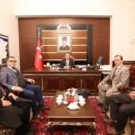 Vali Ahmet Hamdi Nayir'e Tebrik Ziyaretinde  bulunduk