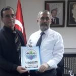 Osman ZOR Sakarya Üniversitesi Rektörü Prof. Dr. Fatih Savaşan'ı Ziyaret etti.