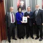 Osman ZOR  Sakarya Milli Eğitim Müdürünü ziyaret etti