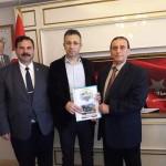 Osman ZOR Akyazı kaymakamı Yakup Güney 'i ziyaret  etti