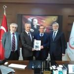 Osman ZOR Sakarya İl Sağlık Müdürü Doç. Dr. Aziz Öğütlü'yü ziyaret etti