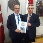 Osman ZOR Karapürçek Belediye Başkanı Orhan Yıldırım'ı ziyaret etti
