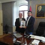 Sakarya Pamukova Belediye Başkanı İbrahim Güven ÖVÜN' e Dernek Ziyaret.