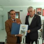 Sakarya Muhtarlar Derneği Federasyon Başkanı Erdal ERDEM'i ziyaret ettik.