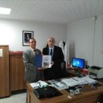 Sakarya Büyükşehir Belediyesi Sağlık İşleri Dairesi Başkanı Dr. Aydın SARI' ya ziyaret