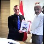 Sakarya Kültür ve Doğal Kaynakları Koruma Derneği, Sakarya Orman Bölge Müdürü Ziya POLAT' ı ziyaret etti.