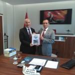 Bölge İdare Mahkemesi Başkanı Nuri KOÇER'i ziyaret ettik.
