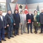 Sakarya Kültür ve Doğal Kaynakları Koruma Derneği Trabzonlular Derneğini Ziyaret etti